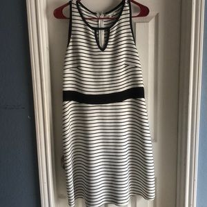 Black and white striped dress by Maurice's sz L